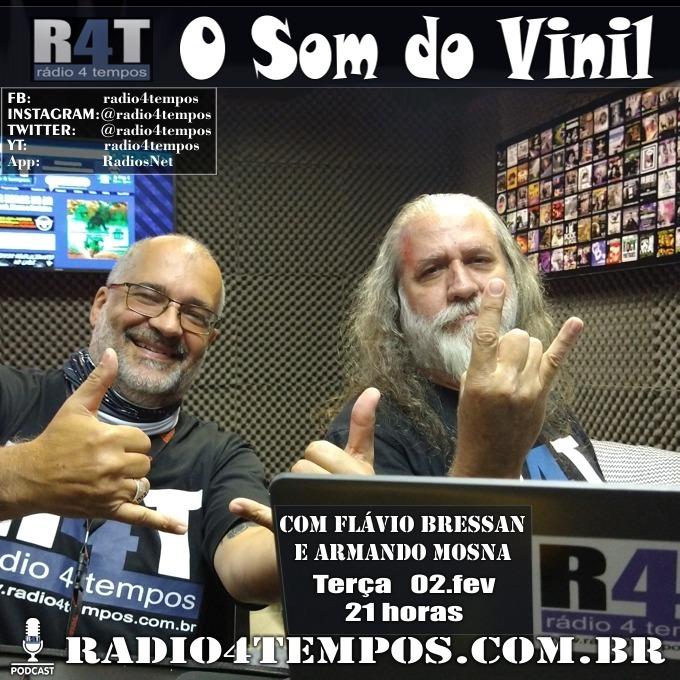 Rádio 4 Tempos - Som do Vinil 49:Flávio Bressan