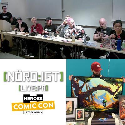265. Den som spelades in på Comic-Con Stockholm 2019
