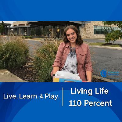 Living Life 110 Percent