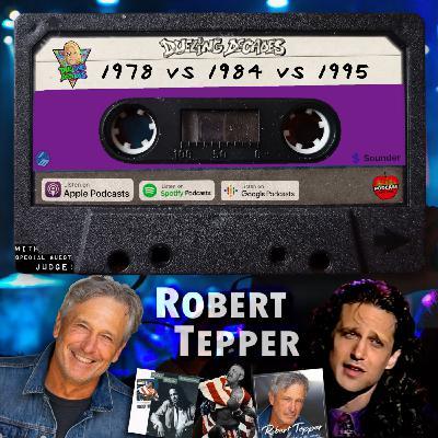 Robert Tepper returns to judge this birthday battle between 1978, 1984 & 1995!