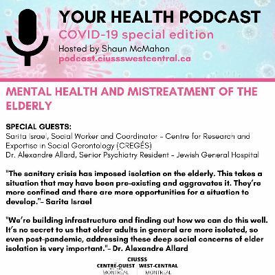 COVID - 19 - Sarita Israel & Alexandre Allard - E084 - Your Health Podcast