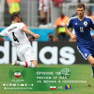 Preview: Iran vs. Bosnia & Herzegovina