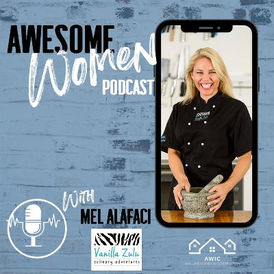 Mel Alafaci - African-Australian chef, Director of Vanilla Zulu Culinary Adventures and runs one of Brisbane's most successful cooking schools.