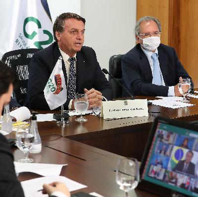 Bolsonaro se prende a questões internas e tem participação 'pífia' na cúpula do G20