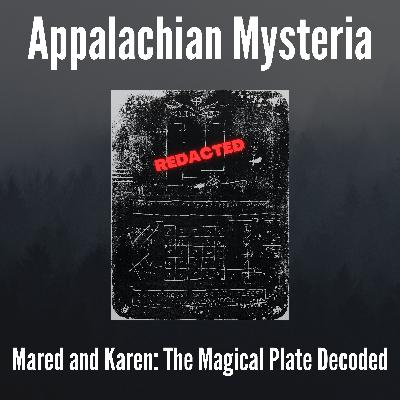 Mared and Karen: The Magical Plate Decoded
