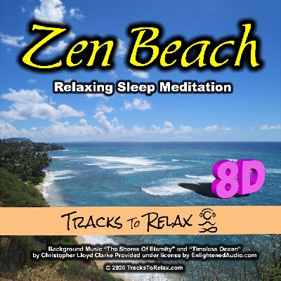 Zen Beach 8D Audio Sleep Meditation