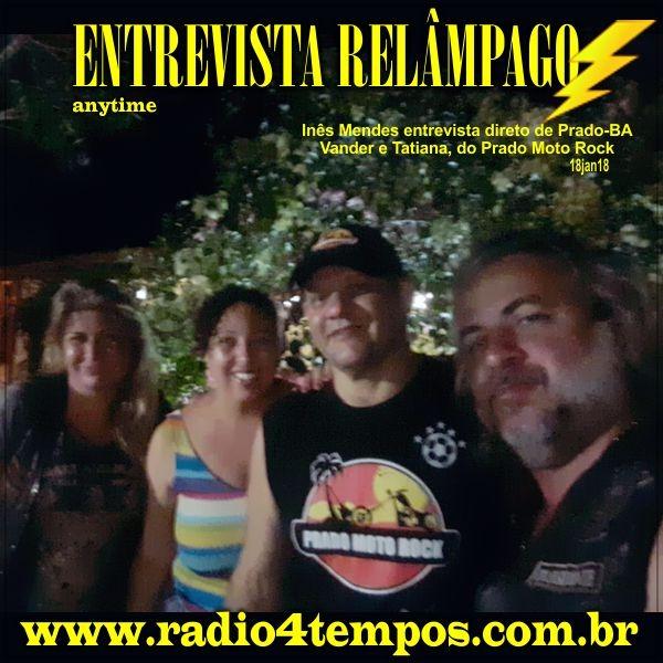 Rádio 4 Tempos - Entrevista Relâmpago 33