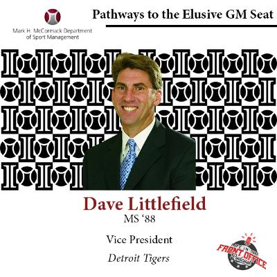 Dave Littlefield, VP Player Development, Detroit Tigers, UMASS Elusive GM Seat Series