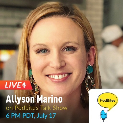 Allyson Marino on Podbites #GoLive #Interview
