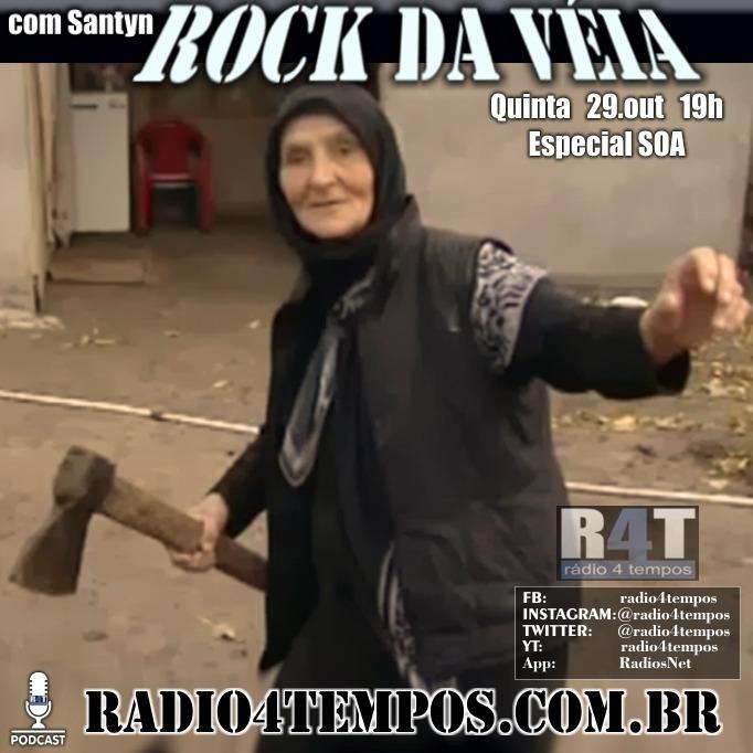 Rádio 4 Tempos - Rock da Véia 90:Rádio 4 Tempos