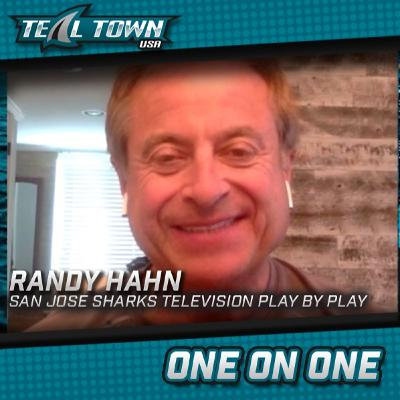 Teal Town One on One - Randy Hahn Sharks Play by Play