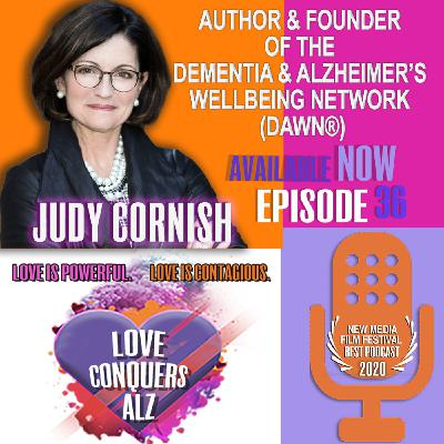 Judy Cornish - Founder of Dementia & Alzheimer's Wellbeing Network (DAWN®)