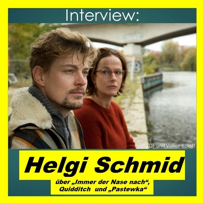 """Helgi Schmid über """"Immer der Nase nach"""", Quidditch und """"Pastewka"""" - Interview"""