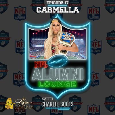 Carmella (WWE Superstar & Patriots Cheer Alumni)