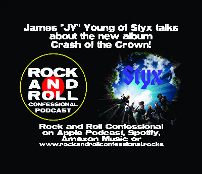 """James """"JY"""" Young of Styx talks with us about the band's new album: """"Crash of the Crown"""""""