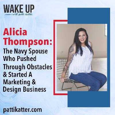 The Navy Spouse Who Pushed Through Obstacles & Started A Marketing & Design Business