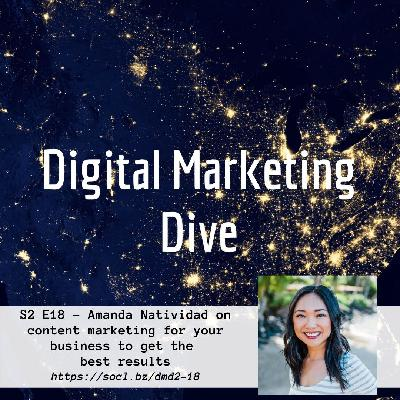 S2 E18 – Amanda Natividad talks Content Strategy and SEO