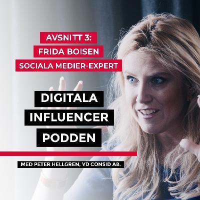 3. Frida Boisen, sociala medier-expert – digitala verktyg i utbildningsväsendet och jämställdhet i IT-branschen