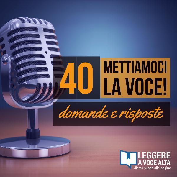 40 Q-A Organizzare un evento di Lettura