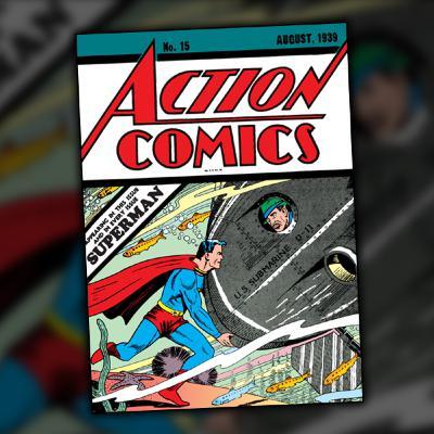 Action Comics #15 (August, 1939)