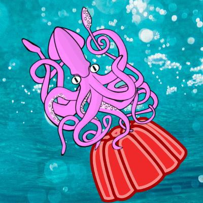 What if squids squirted out jello instead of ink?