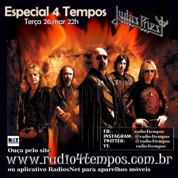 Rádio 4 Tempos - Especial 4 Tempos - JUDAS PRIEST