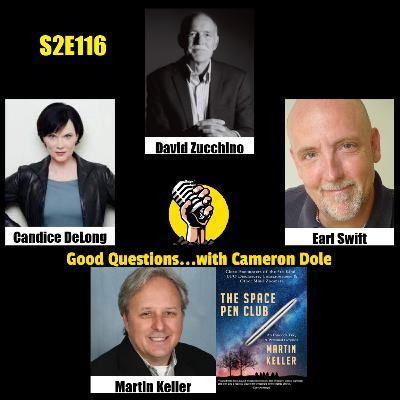 S2E116 - David Zucchino, Candice DeLong, Earl Swift, and Martin Keller