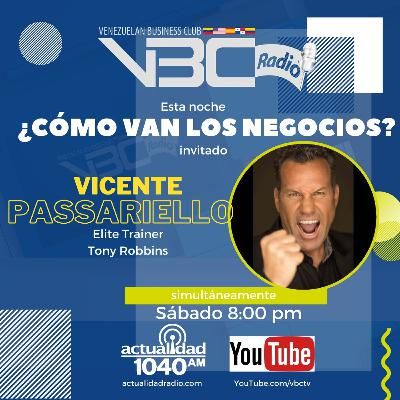 ¿Cómo van los negocios? Vicente Passariello - Elite Trainer Tony Robbins