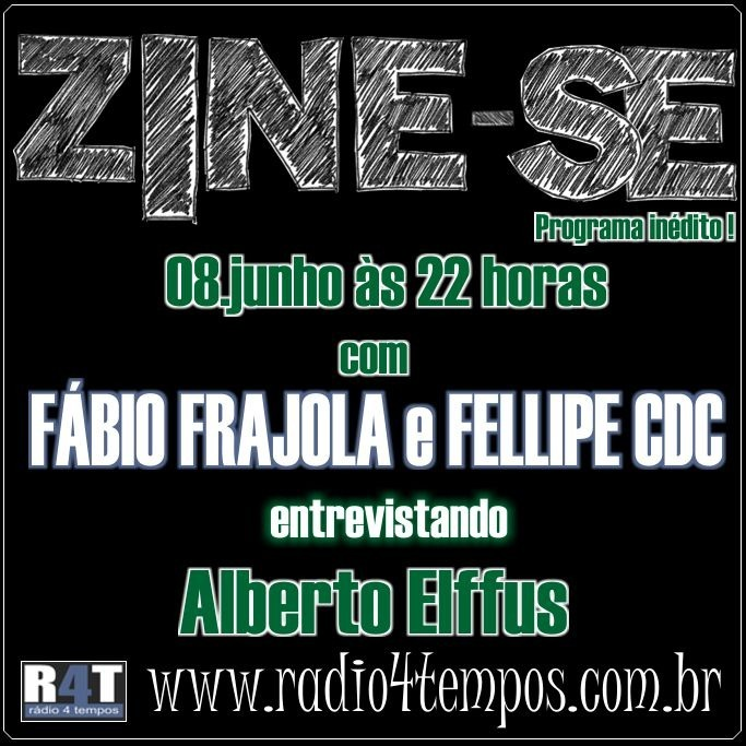 Rádio 4 Tempos - Zine-se 07