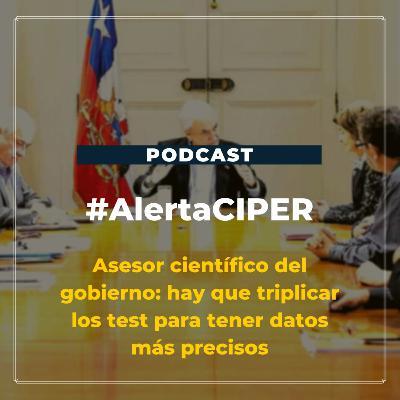 """Capítulo 16 """"Asesor científico del gobierno: hay que triplicar los test para tener datos más precisos"""""""