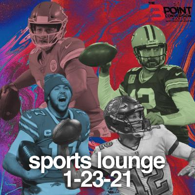 The 3 Point Conversion Sports Lounge - No Black NFL Coaches Hired, NFL Championship Weekend, Are The Nets In Trouble, NCAA B-Ball
