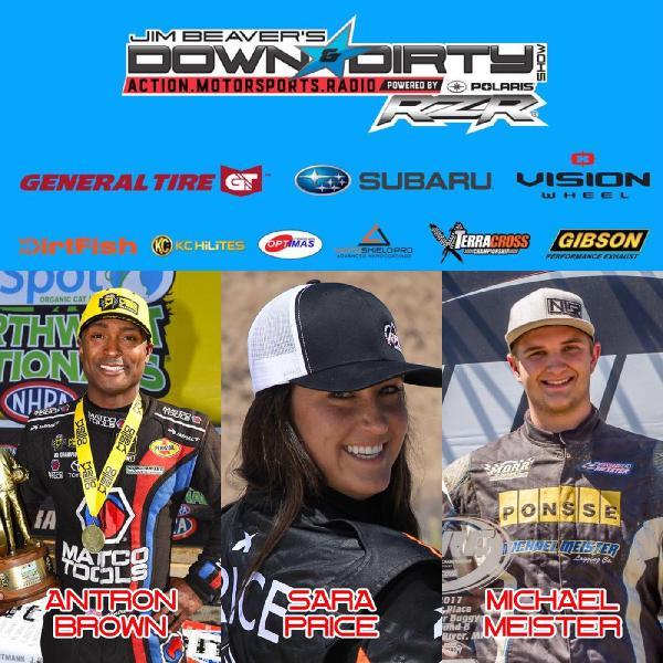 #348 – Antron Brown, Sara Price, & Michael Meister On Air!