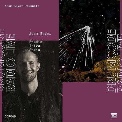 DCR549  – Drumcode Radio Live – Adam Beyer Studio Mix recorded in Ibiza