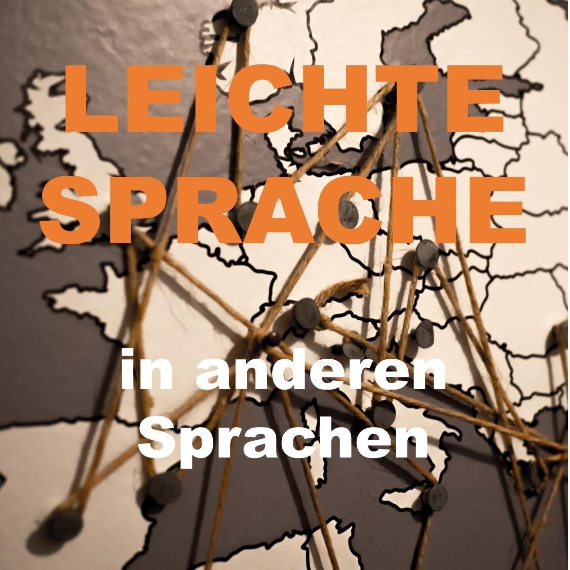 Präsentation Leichte Sprache in anderen Sprachen