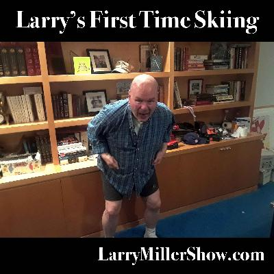Larry's First Time Skiing
