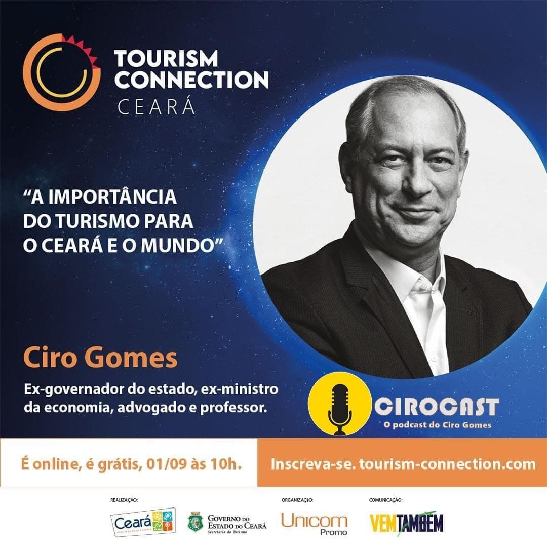 01/09/2020 | Ciro Gomes participa do Tourism Connection 2020