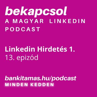 13. epizód - Linkedin Hirdetés 1. - A hirdetési formák a Linkedinen