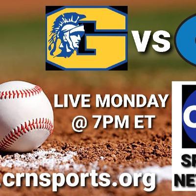CRN Sports Coverage of NCHSAA Non-Conference Varsity Baseball Garner Magnet Trojans vs Clayton Comets! #CRNSports #cometsALLin ⚾️🎙☄