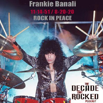 ROCK IN PEACE: FRANKIE BANALI