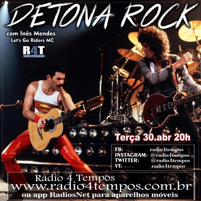 Rádio 4 Tempos - Detona Rock 11:Rádio 4 Tempos