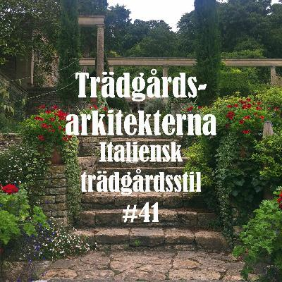 Italiensk trädgårdsstil