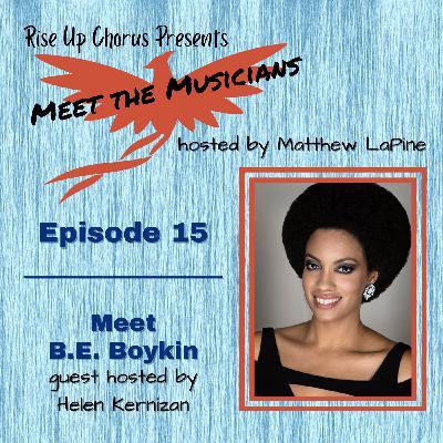 Episode 15: Meet B.E. Boykin