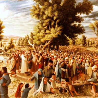 """The Feeding of the 5,000"" Bible Study - John 6:1-15"