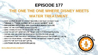 177 The One Where Disney Meets Water Treatment