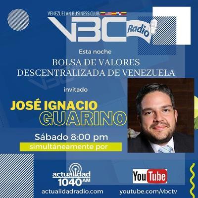 Bolsa Descentralizada de Valores de Venezuela  - Entrevista a José Guarino