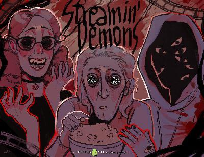 Streamin' Demons – S1E6 – #SkySharks  @SkySharksMovie / #TheCall @shnunz1 / #HolidaysMovie @ThatKevinSmith 'Director of Tusk'