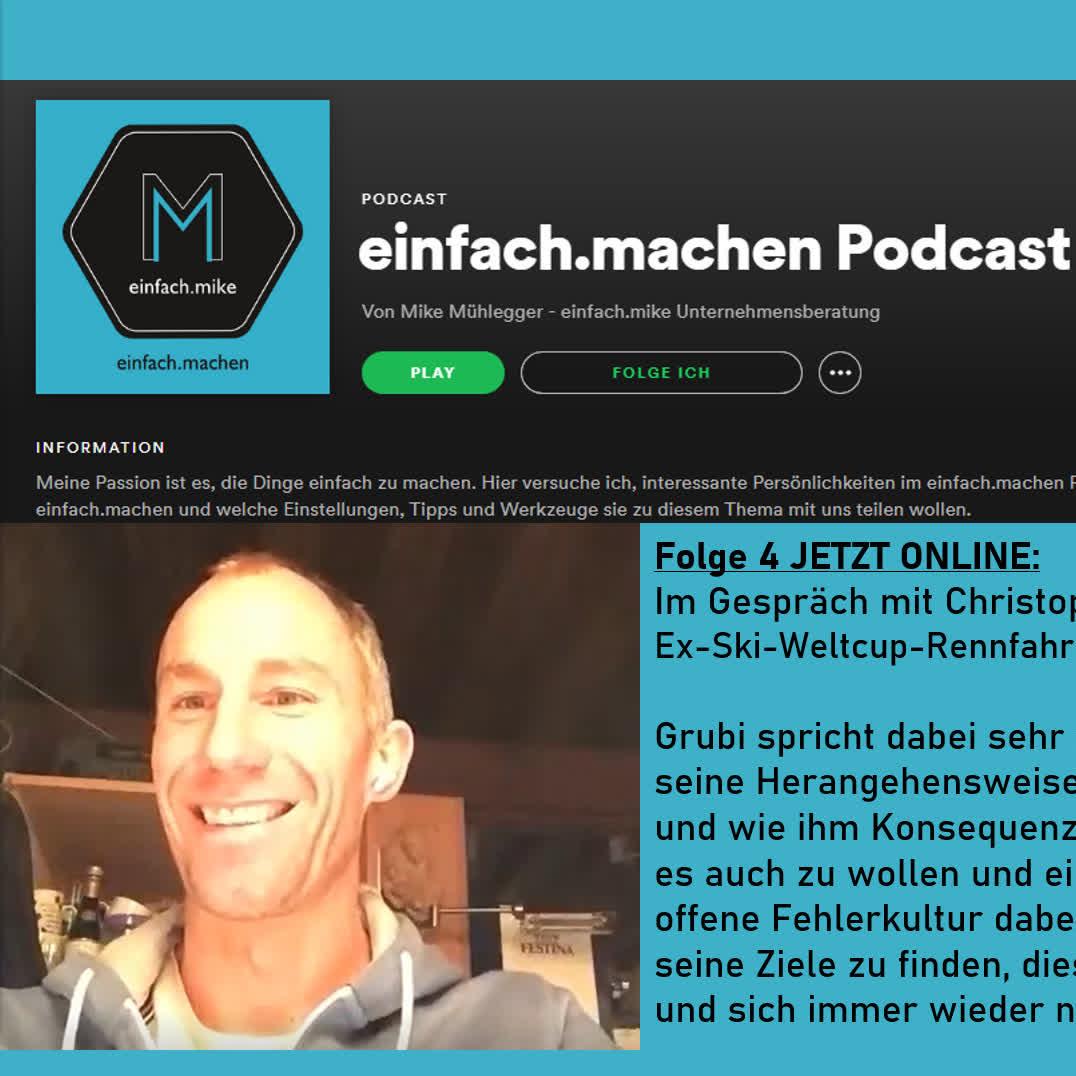 Folge 4 - Christoph Gruber, Ex-Ski-Weltcup-Rennfahrer, Berufspilot und Kommentator