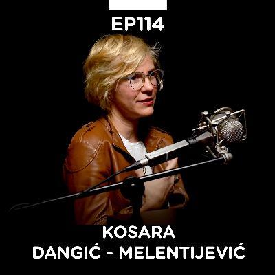 EP 114: Kosara Dangić - Melentijević, zanatska pivara Kabinet - Pojačalo podcast