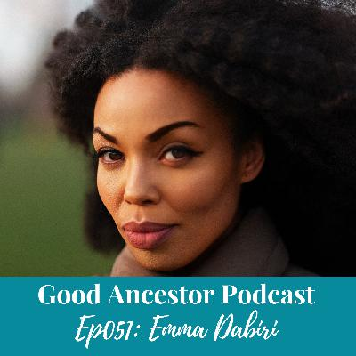 Ep051: #GoodAncestor​ Emma Dabiri on the Tangled History of Black Hair Culture