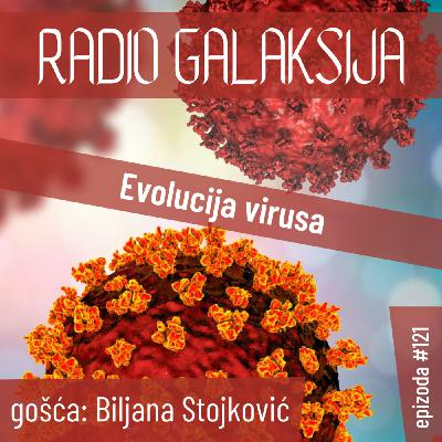 Radio Galaksija #121: Evolucija virusa (Biljana Stojković) [09-02-2021]